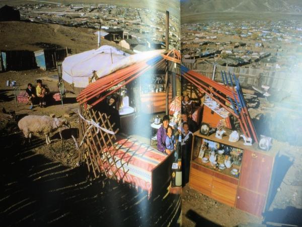 モンゴルの暮らし